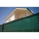 Mata balkonowa PCV jednostronna 1,2x3m zielona LUSTAN