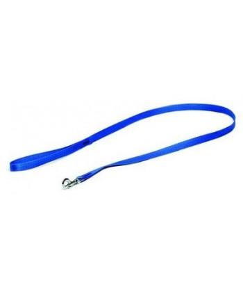 Smycz dla psa pojedyncza TAŚMA niebieska 10098 DINGO