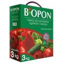 Nawóz do pomidorów, ogórków i warzyw 3kg BIOPON