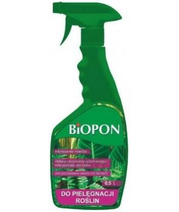 BIOPON spray do pielęgnacji roślin 500ml
