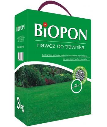 Nawóz do trawnika trawy 3kg BIOPON