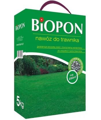 Nawóz do trawnika trawy 5kg BIOPON
