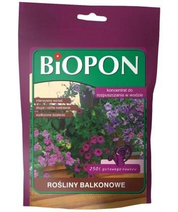 BIOPON koncentrat rozpuszczalny do roślin balkonowych 250g