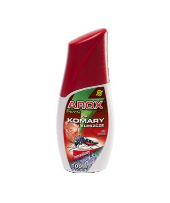 Lawendowy płyn odstraszający komary i kleszcze dla ludzi 50ml AROX