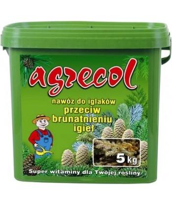 Nawóz do iglaków przeciw brązowieniu igieł AGRECOL 5kg