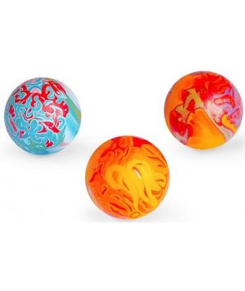 Zabawka dla psa piłka kolorowa NR 3/10 o zapachu wanilii SUM-PLAST