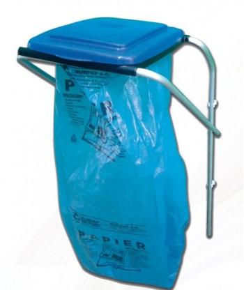 Stojak/stelaż/kosz do segregacji odpadów 1 komorowy