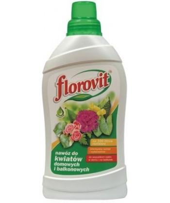Nawóz płynny do kwiatów domowych i balkonowych 1kg Florovit