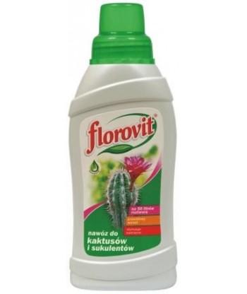 Nawóz płynny do kaktusów i sukulentów 0,25kg Florovit
