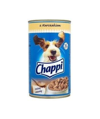 Karma dla psa puszka kurczak 400g Chappi