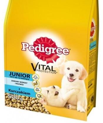 Pedigree Junior Vital Protection dla szczeniaków ras średnich 500g