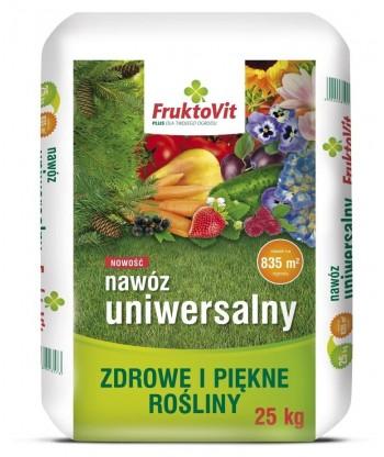 FruktoVit PLUS uniwersalny nawóz granulowany 25kg