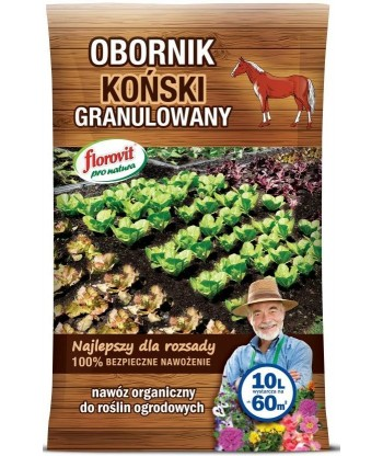 Florovit obornik koński granulowany worek 5L