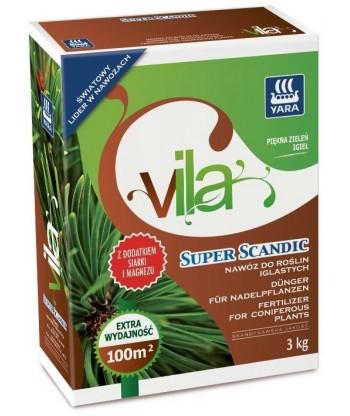 Nawóz do roślin iglastych SUPER SCANDIC YARA VILA 1kg