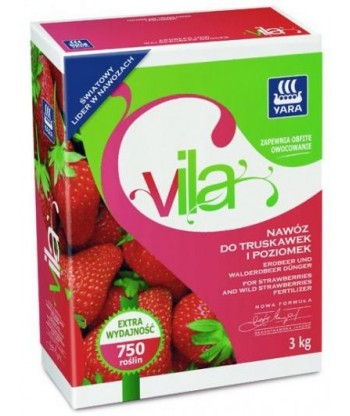 Nawóz do truskawek i poziomek YARA VILA 1kg