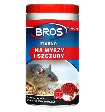 Ziarno na myszy i szczury 300g BROS
