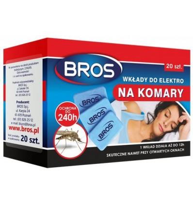 Wkłady do elektrofumigatora na komary BROS
