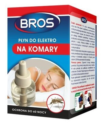Płyn do elektrofumigatora na komary BROS