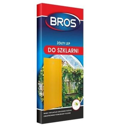 Lep do szklarni żółty 10 szt BROS