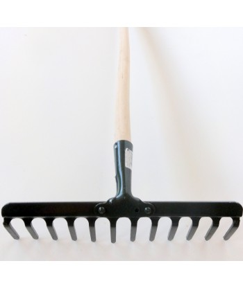 Grabie 10-zębne oprawne trzonek 120cm Łuczyński