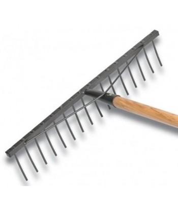 Grabie 18-zębne oprawne trzonek 120cm Łuczyński